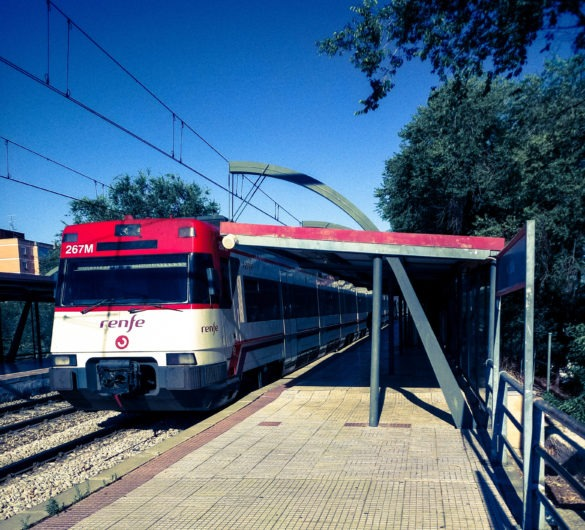 Renfe, local and interstate train in Spain