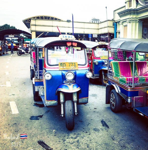 Tuk Tuk rides in Thailand are highly overrated in terms of experience as well as price.