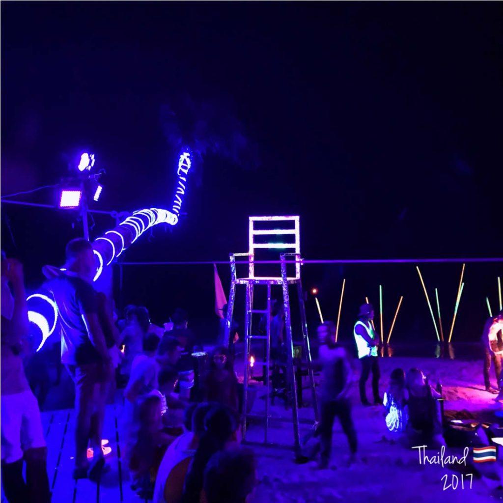 Glowing Beach Lounge Koh Tao
