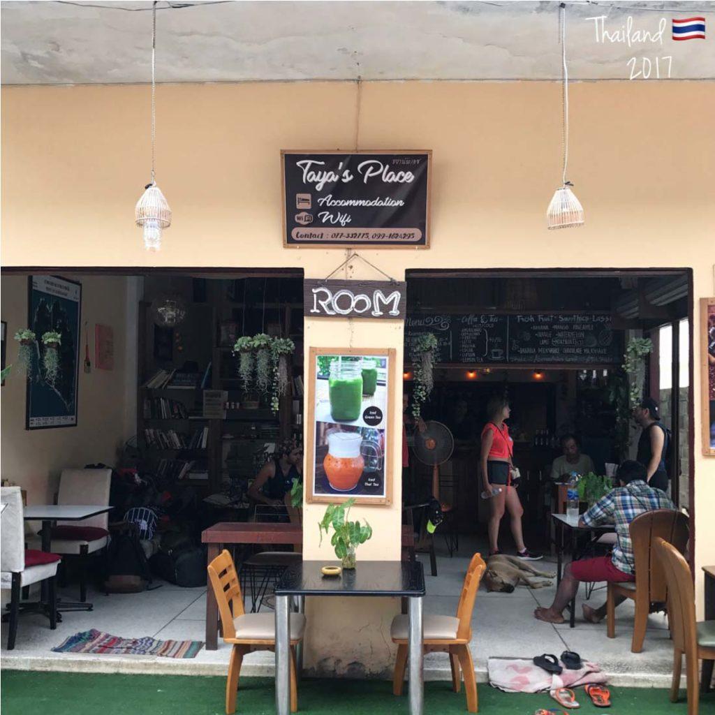 Stay at Taya's place- Koh Pha Ngan